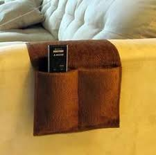 new brown 4 pocket remote control organizer cad holder for couch armchair remote control