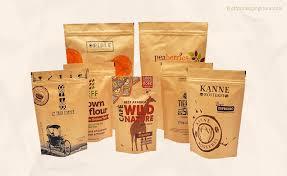 Custom <b>Print</b> Your Branded Kraft Paper <b>Zipper</b> Pouches Bags
