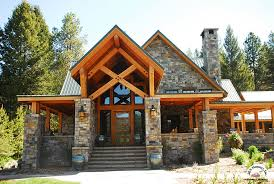 Wood Western Style House Plans