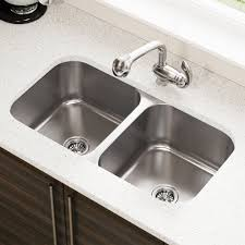 Kitchen Sink Mr Direct 3218a 18 Gauge Undermount Equal Double Bowl Stainless