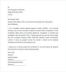 Passport Authorization Letter Mesmerizing Authorization Letter To Carry And Submit Passport For Giving
