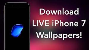get iphone 7 live bubble wallpapers