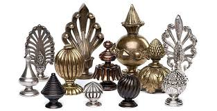 curtain finials many of our wooden curtain pole finials are available in metal with finials in curtain finials wood