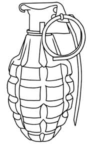 Gun Coloring Pages Print This Page Pixel Colouring Chromano