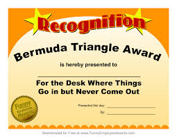 Funny Awards At Work Free Printable Funny Awards Mult Igry Com