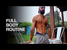 full body bodyweight workout 3