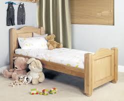 Single Bedroom Furniture Amelie Oak Childrens Standard Sized 3 Single Bed Amelie Oak