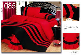 red and black plaid flannel duvet cover red black duvet covers red black cotton 4pcs bedding