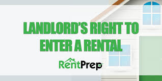 Notice To Tenant To Make Repairs Ultimate Guide To Understanding A Landlords Right To Enter A Rental
