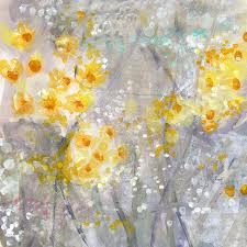 fl painting dusty miller abstract fl painting by linda woods