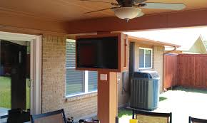 mounting a tv outdoors outdoor designs