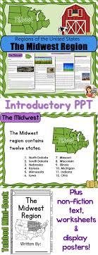 US Regions: Midwest Region | Worksheets, Students and Social studies