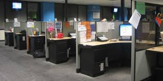 how to decorate office cubicle. Plain How Smart And Exciting Office Cubicles Design Ideas  Ordinary Brown  Black Line Up Cubicle On How To Decorate