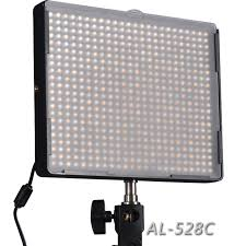 aputure amaran al 528c led light panels led studio lights for for canon nikon