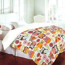owl bed set bedding sets for girls toddler