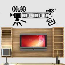 Small Picture Home Cinema Theatre Film Quote Wall Art Stickers Decals Vinyl Home