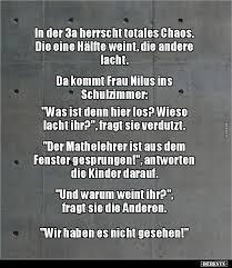 In Der 3a Herrscht Totales Chaos Lustige Bilder Sprüche Witze
