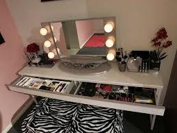 diy makeup vanity with lights pictures