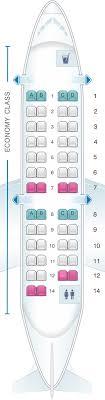 Delta Regional Jet Seating Chart Seat Map Delta Air Lines Bombardier Crj 200 Expresjet