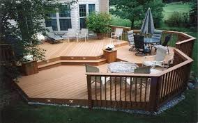 Small Picture deck in a small backyard i had a really small backyard in a