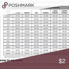 Leotard Size Chart Size Chart Gk Leotard Other My Posh Picks Gk Leotards