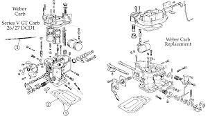 morgan motors weber carburator diagram
