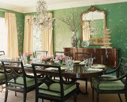 Blue Green Dining Room