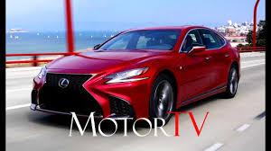 2018 lexus 400h. contemporary 400h the all new 2018 lexus ls 500 fsport l exterior interior driving scenes inside lexus 400h