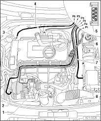 skoda workshop manuals > octavia mk2 > drive unit > engine 2 0 103 drive unit > engine 2 0 103 kw tdi pd 2 0 100 kw tdi pd > exhaust turbocharger g charger > charge air system exhaust gas turbocharger part 1 >