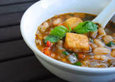 bean   basil soup