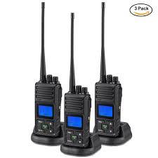 2 Way Radio 5 Watt Long Range Samcom 20 Channels Walkie Talkie Rechargeable Hand Held Uhf Business Radio For Outdoor Hiking Hunting Travel 6 Packs