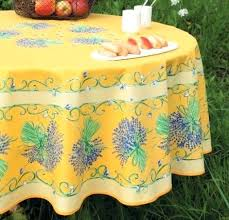 select plain or coated cotton tablecloth acrylic round lavender on tablecloth olive tree blue round coated cotton