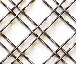 antique br door wire mesh