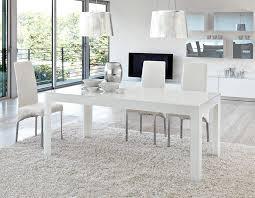 fancy design ideas modern white dining table 34