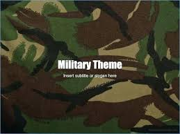 Camouflage Powerpoint Template Yasnc Info