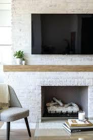 white brick fireplace white painted brick fireplace with flat panel white brick wallpaper fireplace white brick fireplace