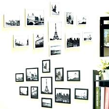 photo collage frame hanging wall clock picture ideas frames family