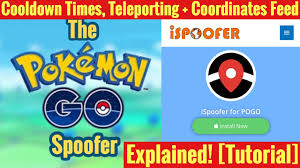 Pokemon Go Cooldown Chart Ispoofer Cooldown Teleporting And Coordinates Feed Explained Ispoofer Pokemon Go