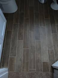 Brilliant Tile Flooring That Looks Like Wood In Bathroom Floor For The Ideas