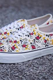 vans disney shoes. shoes vans disney mickey mouse white bag colorful
