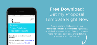 Proposal Template Free 24 Steps To Write The Best Freelance Proposal Free Template 18