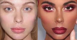 insram user incites outrage after posting white model in dark makeup