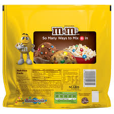 calories in large bag of m ms
