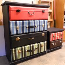 Luggage With Drawers Creating A Suitcase Dresser A Tutorial On My Creative Side