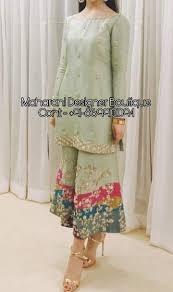 Stylish Plazo Suit Design