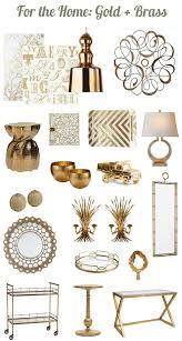 impressive design gold accent decor home designing
