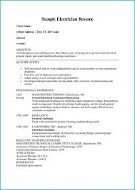 Electrician Apprentice Resume Samples Electrician Resume Sample Resumelifts Electrical Apprentice