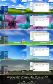 windows theme free xp themes final for win10 by sagorpirbd on deviantart