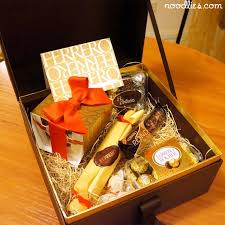 Discover gifts that will make this chinese new year their most memorable yet. Ferrero Chinese New Year Gift Box Noodlies A Sydney Food Blog By Thang Ngo