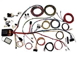 Car wiring harness inspirating of truck engine